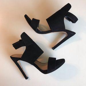 Black Zara Trafaluc stiletto hells